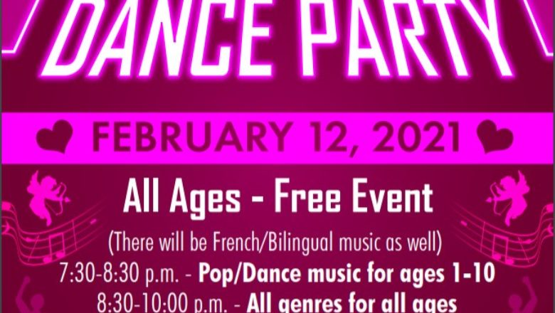 Valentine's Day Dance Party