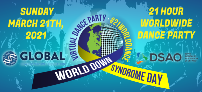 #21WorldDance – World Down Syndrome Day 2021 virtual celebration